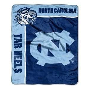 North Carolina Tar Heels 50 inch x 60 inch Royal Plush Raschel Throw