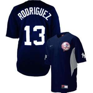 Yankees #13 Alex Rodriguez Navy Walk off Jersey