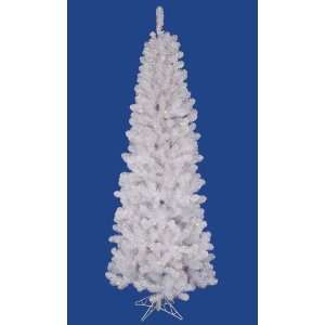 8.5 Pre Lit LED White Salem Pine Pencil Artificial