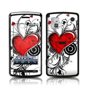 My Heart Design Protective Skin Decal Sticker for LG Vu
