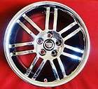 Cadillac CTS COUPE STAGGERED CHROMED FACTORY 18 OEM WH