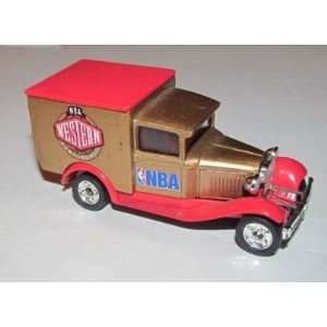NBA Western Conference 1995 Matchbox Diecast Ford Model A Truck NBA