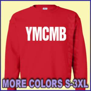 YMCMB shirt Hip Hop young money & cash RAP Sweatshirt