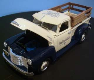 NIB Rare 125 Ertl 1950 CHEVY PICKUP TRUCK National Toy Truck