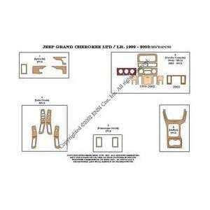 Jeep Grand Cherokee Laredo Dash Trim Kit 03 03   21 pieces