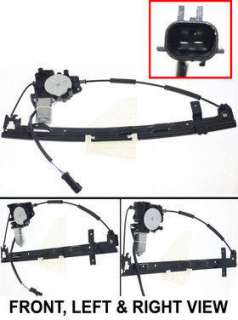 JEEP GRAND CHEROKEE WINDOW REGULATOR&MOTOR 01 02 REAR R