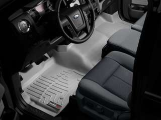 Floor Mats FloorLiner   Ford F 150 SuperCab   2011 2012   Grey