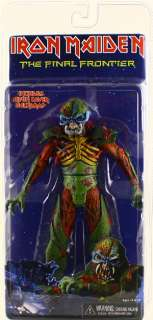 IRON MAIDEN NECA EDDIE THE FINAL FRONTIER 7 ACTION FIGURE
