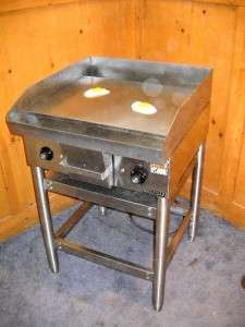 HOBART Electric 24 Flat Top Grill Griddle on Stand * Model CG20 1