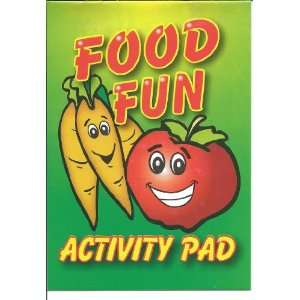 Activity Pad   24 pieces   Food Fun Toys & Games