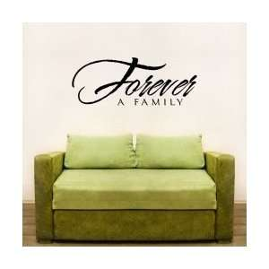 Forever A Family Wall Art Decal