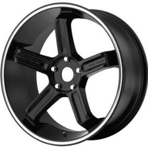 Motegi MR122 17x8 Black Wheel / Rim 5x100 with a 48mm Offset and a 72