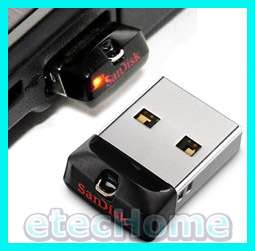 SanDisk CRUZER FIT 4GB 4G USB Flash Pen Drive Mini Nano Memory Disk