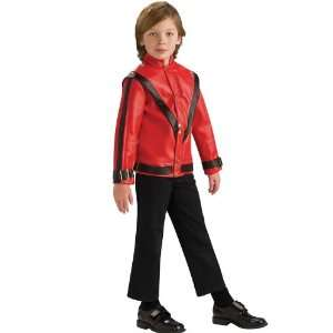 Michael Jackson Thriller Red Jacket Child Medium 8 10 Pop