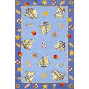 Duracord Sawgrass Mills Excursion Blue Indoor/Outdoor Rug