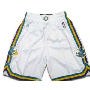 Hornets Swingman NBA Basketball Shorts White Size M