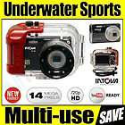 waterproof digital sports camera intova ic 14 hd video underwater