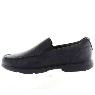 Rockport Mens Loafers Shoes K52968 Vintage Circle Black Leather