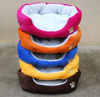 NEWCozy Soft Warm Fleece Pet Bed Puppy Dog beds Cat Mat House