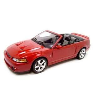 2003 FORD MUSTANG SVT COBRA 118 DIECAST MODEL Everything