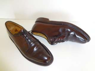 Imperial Shell Cordovan Plain Toe Oxfords Mens Shoes 9.5 D