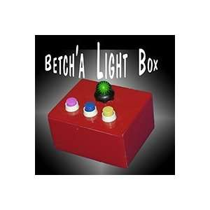 Betcha Lite Box Monte   Grant   Stage Magic trick Toys