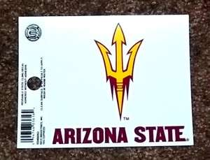 Arizona State Sun Devils NCAA Sports Sticker Static Cling / Window