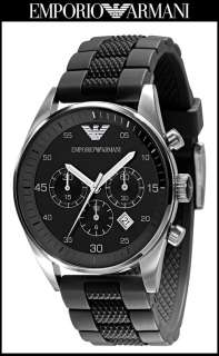 Latest New Emporio Armani Men 43mm Chronograph Watch AR5866 $295 Sale
