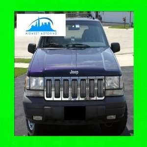 1993 1998 JEEP GRAND CHEROKEE CHROME TRIM FOR GRILL GRILLE