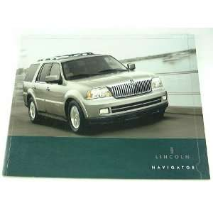 2005 05 Lincoln NAVIGATOR SUV Truck BROCHURE Everything
