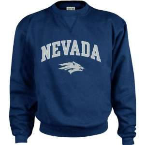 Nevada Wolf Pack Perennial Crewneck Sweatshirt  Sports