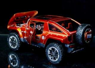 hummer hx concept car by maisto custom shop new 1 24 scale made of die