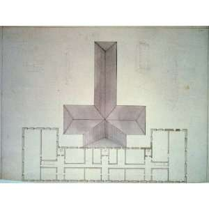 Institutional/factory building,floor plan,roof,sketches