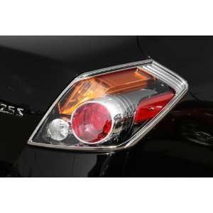 400863 Chrome Tail Light Cover for Select Nissan Models Automotive