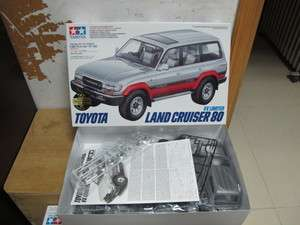 Toyota Land Cruiser 80 1/24 model kit Tamiya retro