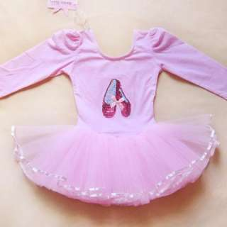 Girls Party Dance Ballet Costume Tutu Skirt Dress 3 8Y