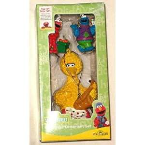 Sesame Streets Big Bird, Cookie Monster & Elmo Ornament