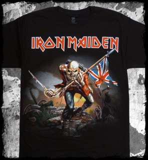 Iron Maiden   The Trooper   official t shirt   FAST SHIPPING