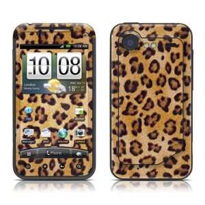 Leopard Spots Design Protective Skin Decal Sticker for HTC Incredible