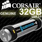 CORSAIR Flash Survivor 32GB Rugged USB 3.0 Thumb Drive 32G 5 Year