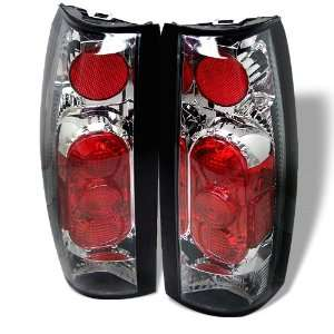 Blazer 87 94 Tail Lights + Hi Power White LED Backup Lights G2