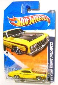 Hot Wheels Muscle mania 69 Ford Torino Talladega 027084944266
