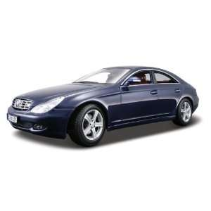 Maisto 118 Scale Metallic Blue Mercedes Benz CLS Class