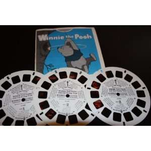 Three View Master Reels Winnie the Pooh and The Honey Tree