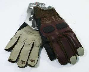 Race Face Diabolus Full Finger Gloves/FR/DH/Brown/M