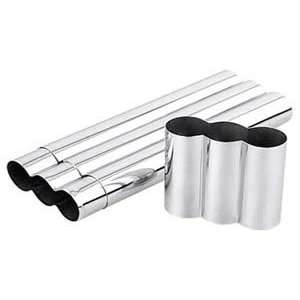 Three Cigar Stainless Steel Tube