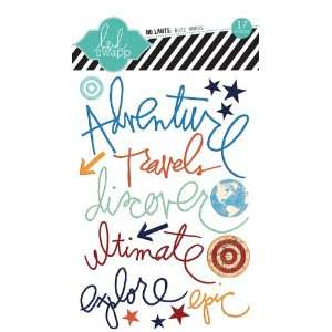 Limits Collection   Epoxy Stickers   Buzz Words Arts, Crafts & Sewing