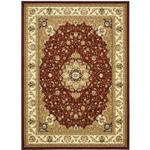 Collection LNH329C 26 Red/Ivory 23 x 6 Runner