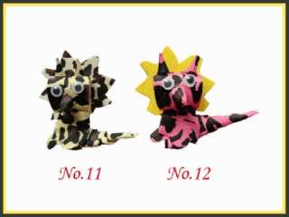 200 Girls Bug Toddler Hair Clip bows Dinosaur Flower Frog