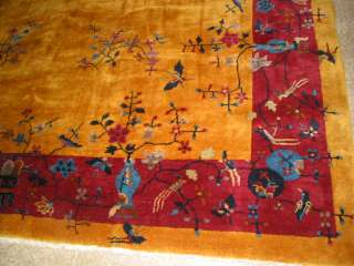 Antique Art Deco Nichols Chinese Rug B 7936